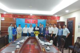 Hiệp hội Xây dựng và Vật liệu Xây dựng Tp. HCM chúc tết Sở Xây Dựng và Sở Quy Hoạch Kiến Trúc Tp. Hồ Chí Minh