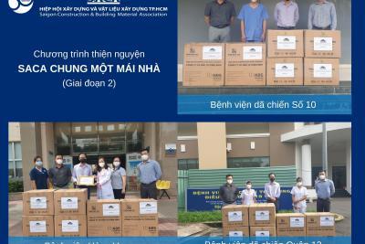 """Tiếp nối các chương trình thiện nguyện """"SACA Chung một mái nhà"""" giai đoạn 1, Hiệp hội SACA tiếp tục triển khai chương trình thiện nguyện giai đoạn 2."""