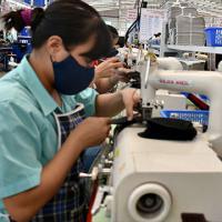 Lãnh đạo huyện Châu Đức thăm và làm việc tại công ty Giày Da Uy Việt (tại Châu Đức)